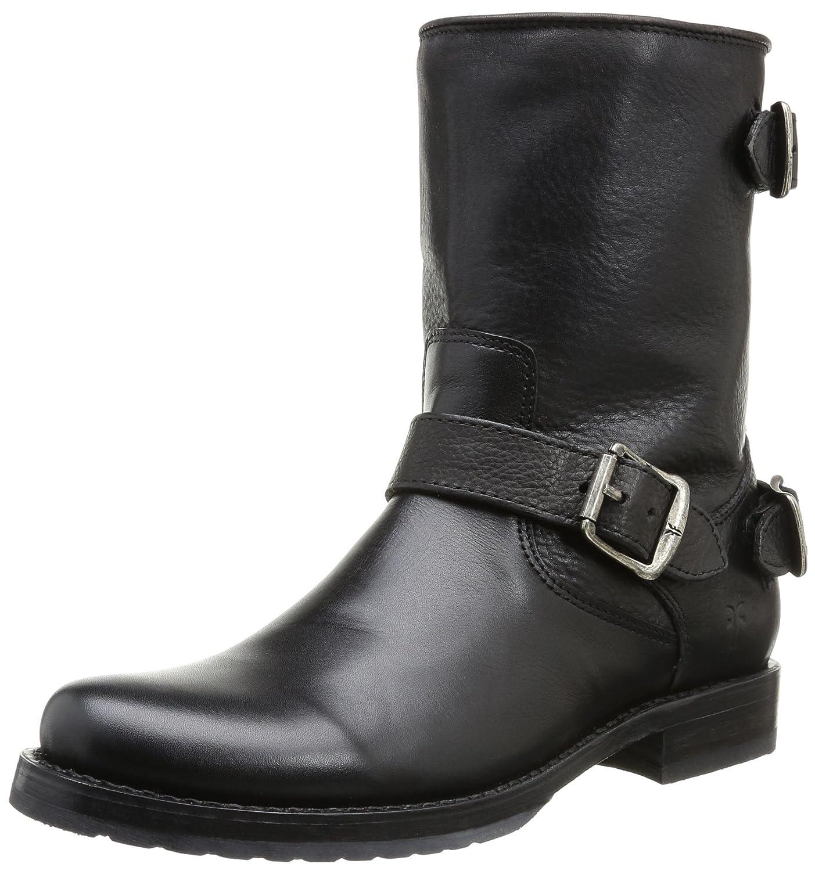 FRYE Company Veronica Back Zip Short Women's Boot B00A8O1CKU 6.5 B(M) US|Black Stone Antiqued