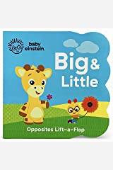 Baby Einstein Big and Little Chunky Lift a Flap Board Book: An Opposites Book Board book
