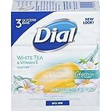 Dial Glycerin Bar Soap, White Tea and Vitamin E, 4 Ounce Bars, 3 Count