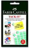 Faber-Castell TACK IT 90 Blocks Reusable and Removable Adhesive (Green)