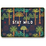 Studio Oh! Medium Metal Catchall Tray Available in 12 Different Designs, Justina Blakeney Stay Wild