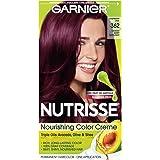 362 Darkest Berry Burgundy , 1 Count : Garnier Nutrisse Nourishing Color Creme, 362 Darkest Berry Burgundy