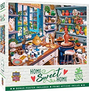 MasterPieces Home Sweet Home - Garden Getaway 550-Piece Jigsaw Puzzle