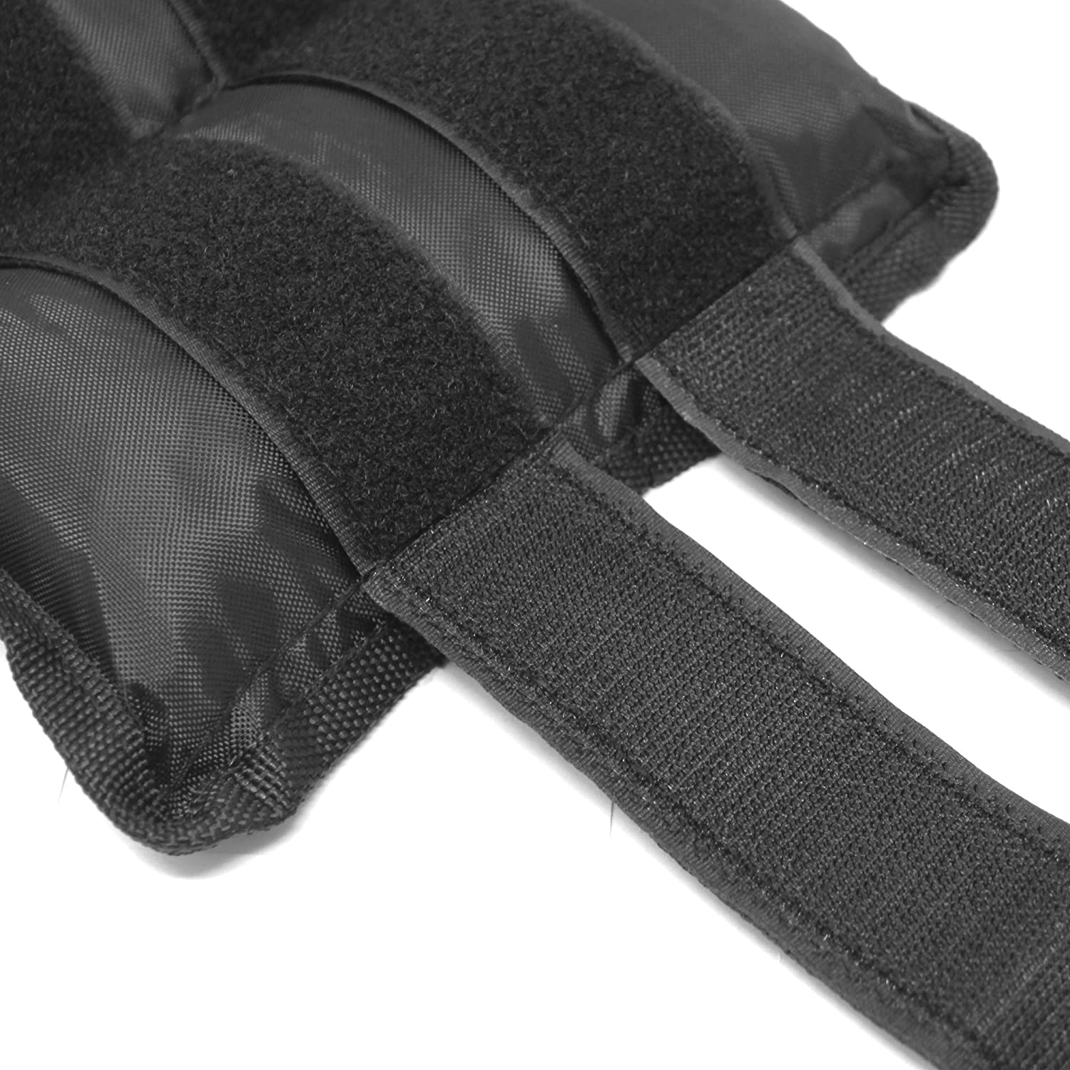 FITNESS MANIAC Adjustable Straps Ankle Weights Wrist Leg Weight Sand Filling 10lbs 12lbs 14lbs 16lbs Double Straps for Walking Jogging Gym Fitness Exercise Gymnastics Aerobics