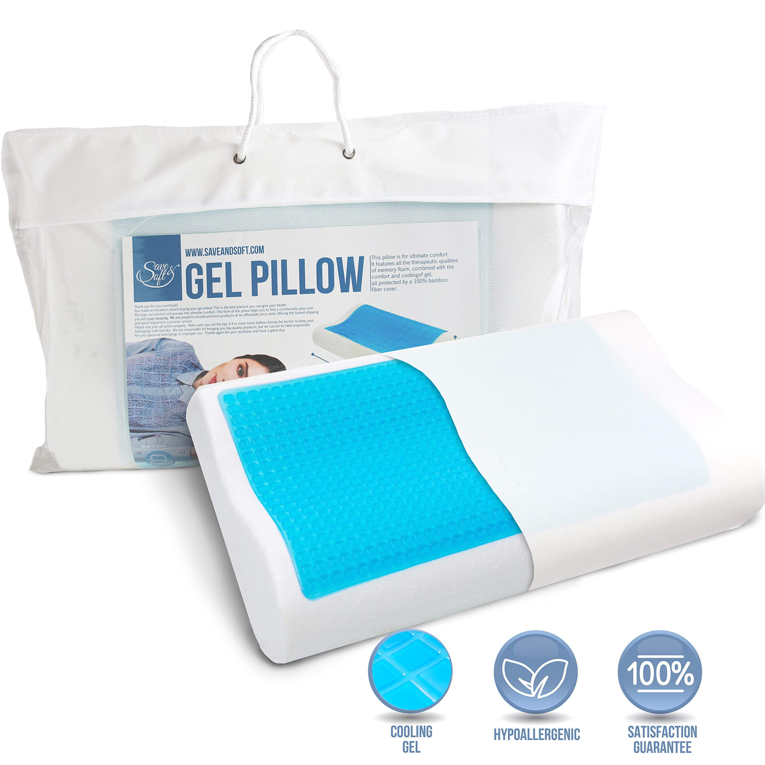 memory memories pin and chiropractic foam pillow products white
