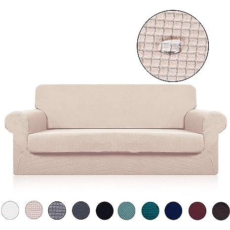 Amazon.com: Funda de sofá con funda de cojín separada (2 ...