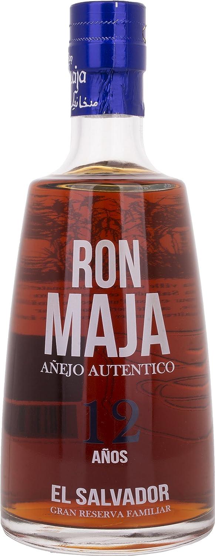 Ron Maja Ron Maja Añejo Autentico 12 Años Gran Reserva Familiar Rum 40% Vol. 0,7l - 700 ml