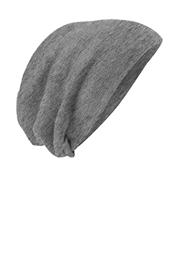 df97c9299e1 District Comfortable Slouch Beanie - Light Grey Heather DT618 O S at ...