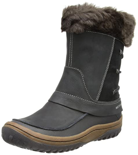 Merrell Decora Minuet, Botas de Nieve para Mujer, Negro, 39 EU: Amazon.es: Zapatos y complementos