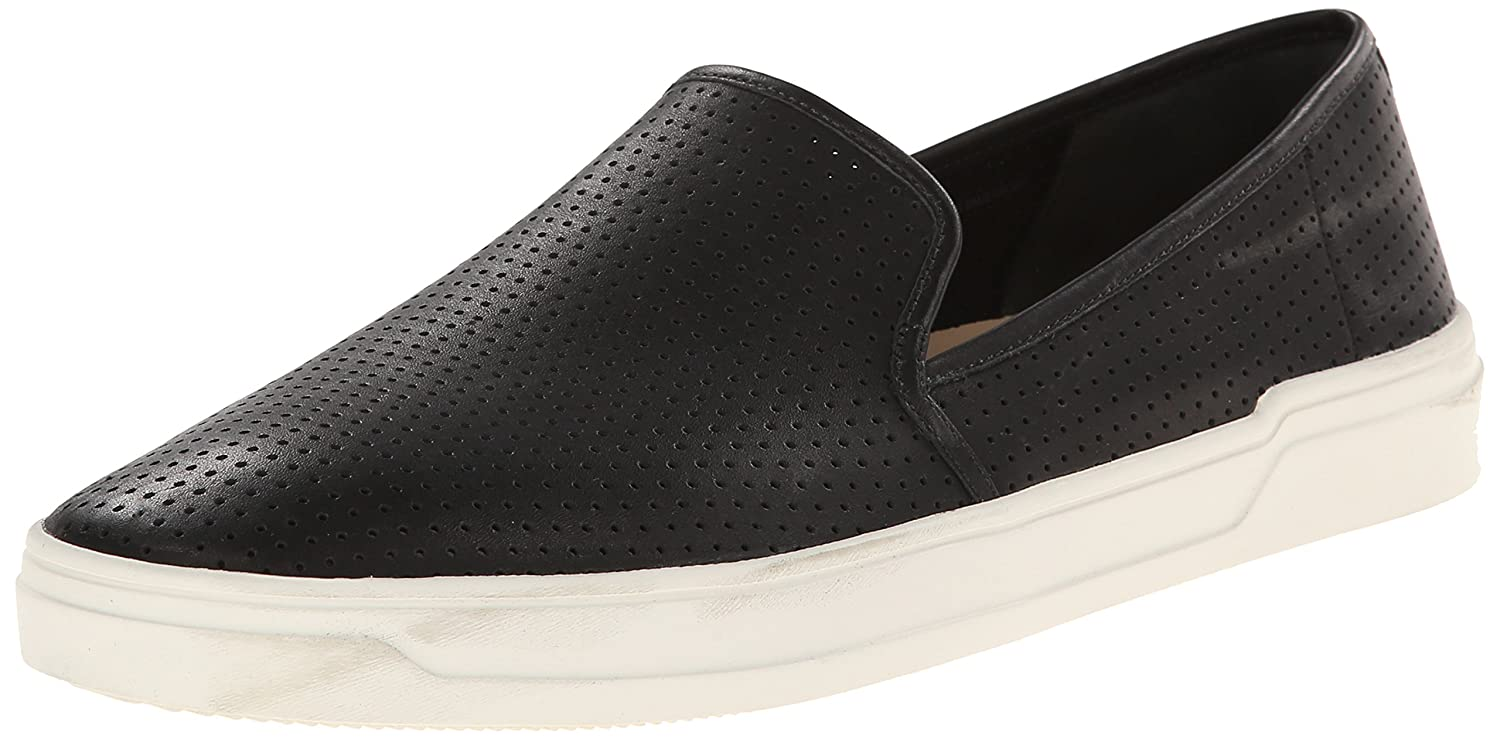 Via Spiga Women's Galea Slip On Sneaker B00NTE253Y 7.5 B(M) US|Black