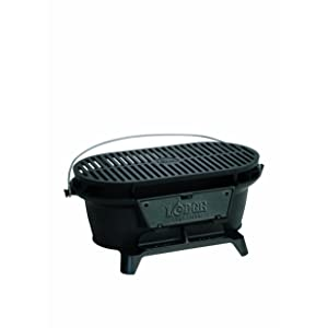 Amazon.com: Lodge Cast Iron Sportsman\'s Grill. Large ...