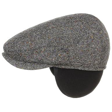 Earflaps Tweed Flat Cap Mayser tweed cap flat cap (62 cm - anthracite) aca6807e3ec