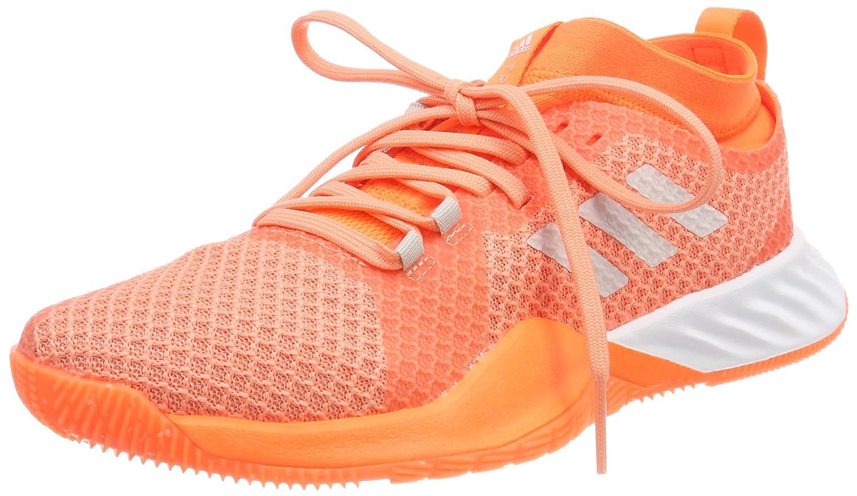 Adidas Damen Crazytrain Pro 3.0 Fitnessschuhe Pink (Chalk Coral/Chalk Pearl/Hi-res Orange)