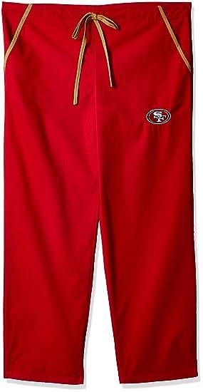 9e83a2e6058 Amazon.com : Scrub Dudz NFL Solid Scrub Pants : Clothing