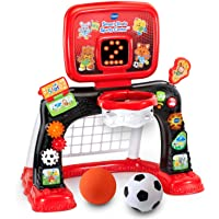 VTech Smart Shots Sports Center Amazon Exclusive (Frustration Free Packaging), Red