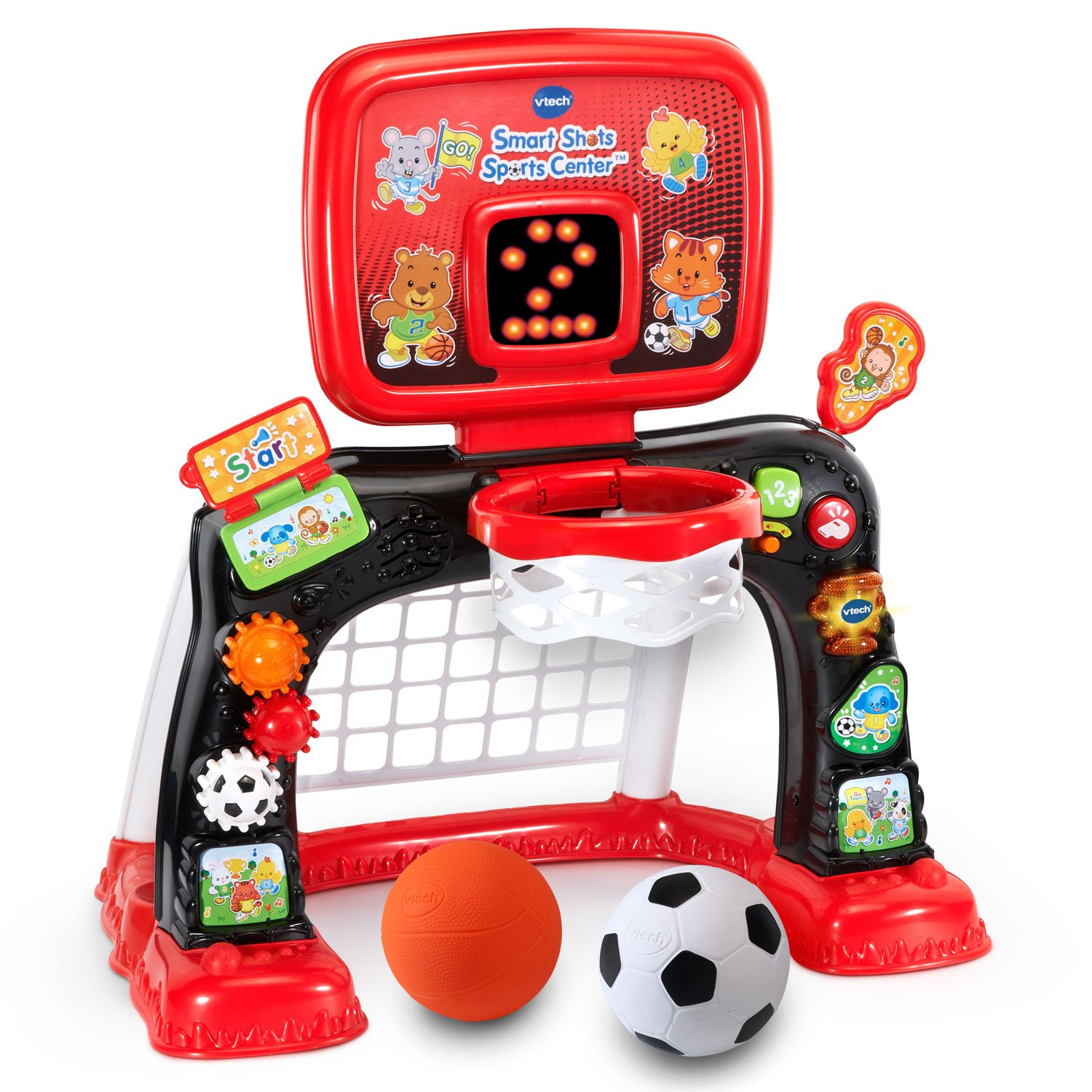 VTech Smart Shots Sports Center Amazon Exclusive (Frustration Free Packaging), Red by VTech