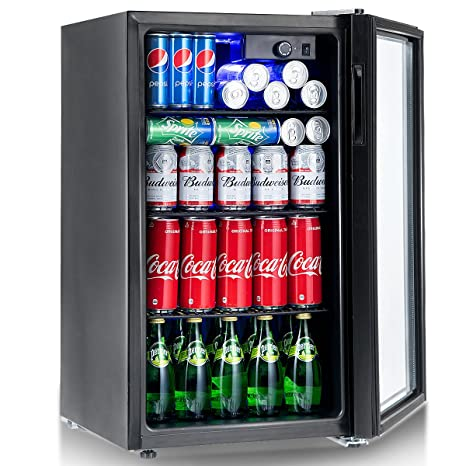 Amazon Costway 120 Can Beverage Refrigerator And Cooler Mini