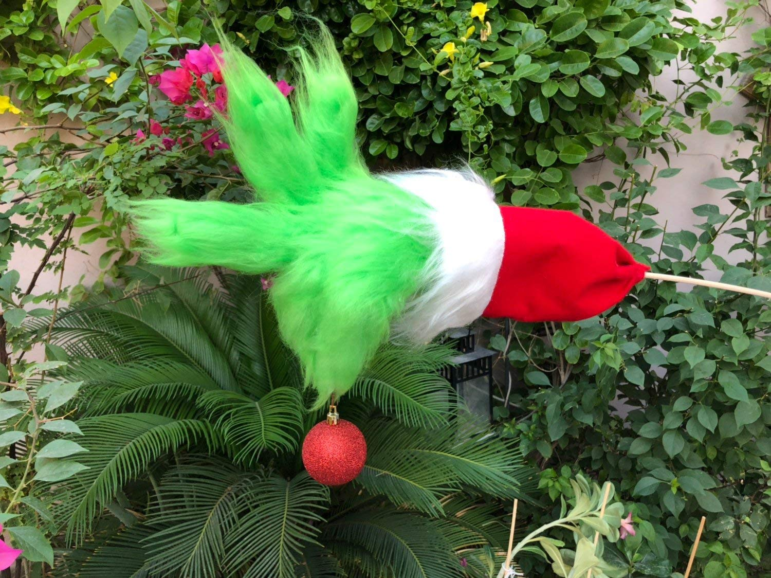Grinch hand christmas ornament for tree
