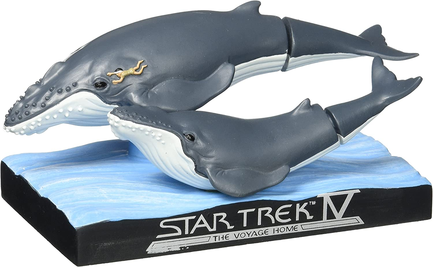 Convention Exclusive Star Trek IV BBP16070 Whales with Spock Bobble Head
