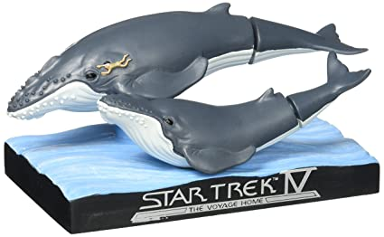 Amazon Com Star Trek Iv Whales With Spock Bobble Head Con Excl