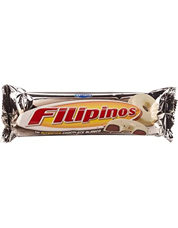 Artiach Filipinos Galleta Bañada con Chocolate Blanco - 100 g