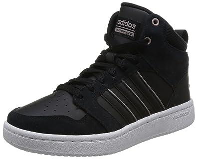 pretty nice 26dd0 dd239 adidas Damen Cloudfoam Super Hoops Mid Schuh Fitnessschuhe Schwarz NegbasGrmeva  000, 36 2