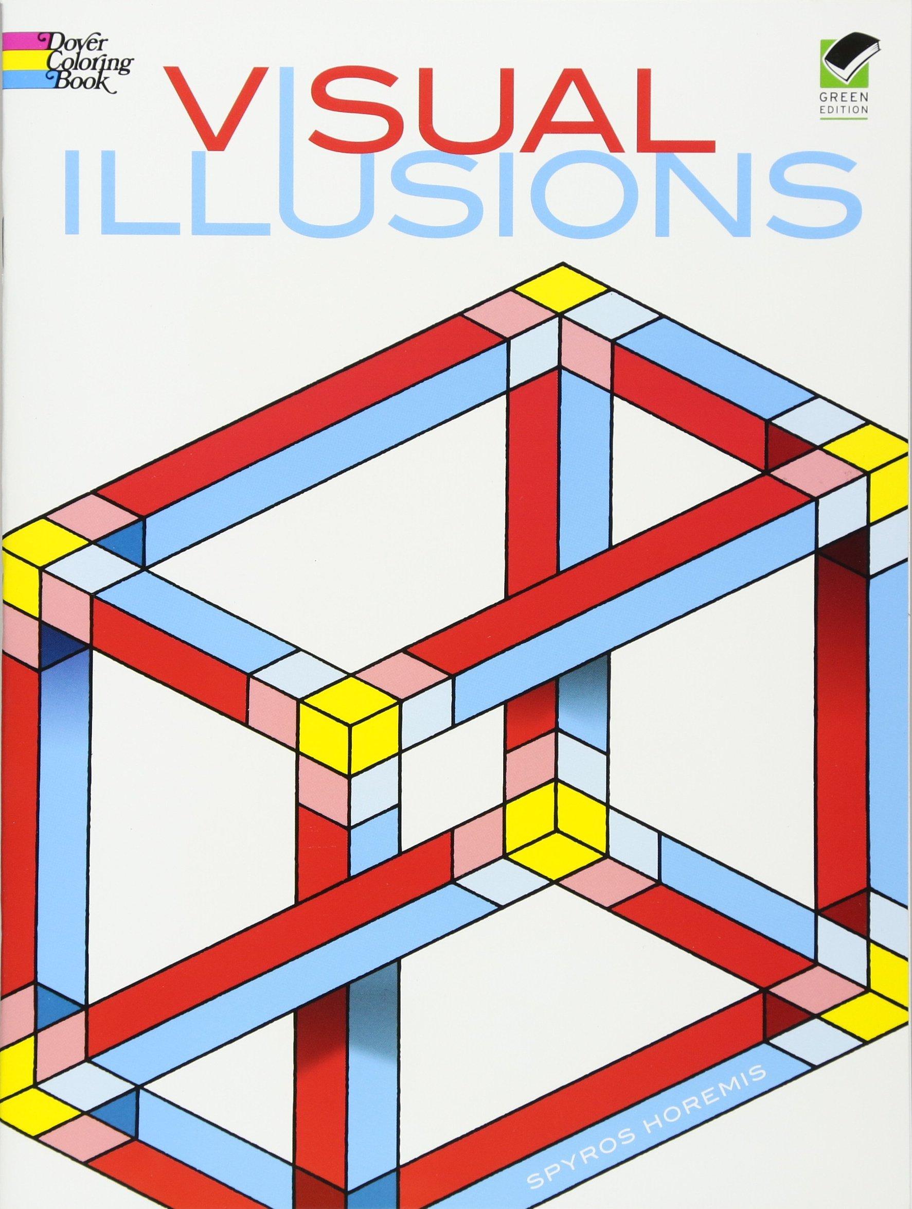 Visual Illusions Coloring Book