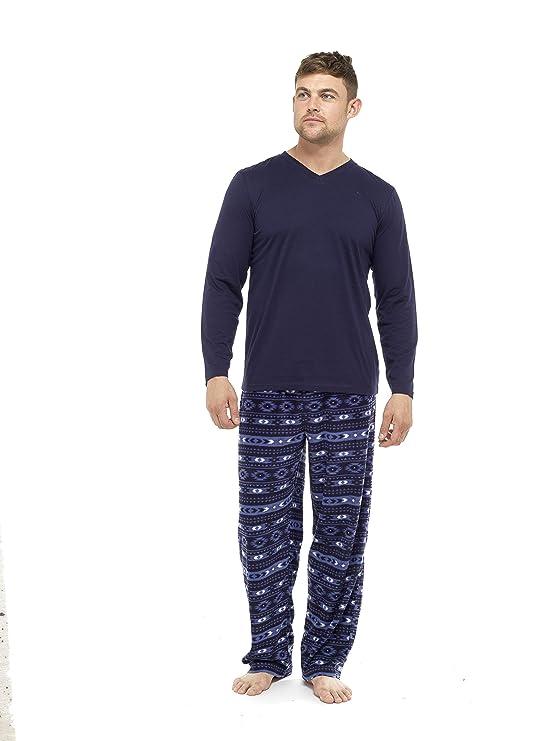 2a4c6cc067 i-Smalls Pijama de invierno para hombre