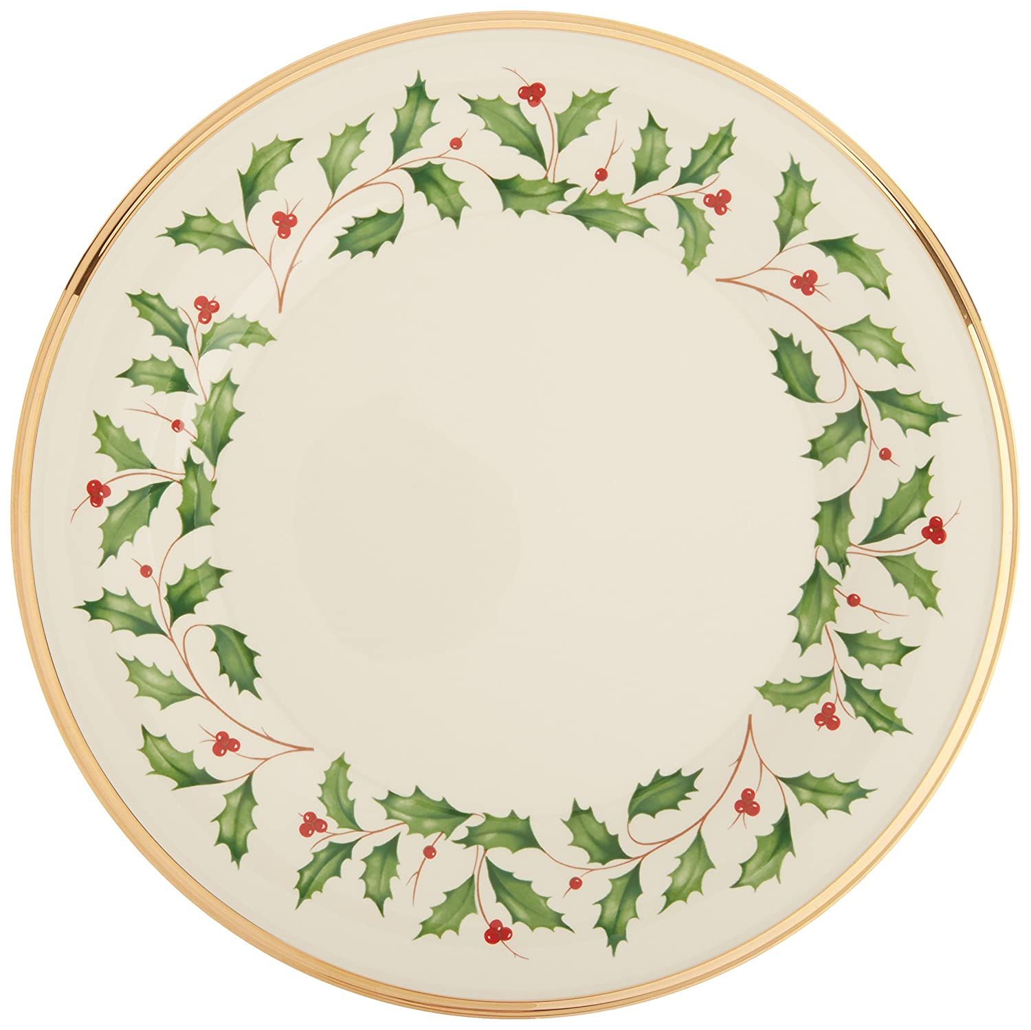 Amazon.com: Lenox Holiday Dinner Plate: Lenox Holiday Dinner Plate ...