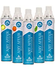 Multiflavored Five pack of 95% Premium Portable Oxygen(Sports, Performance, Stress, Energy, Vitality)