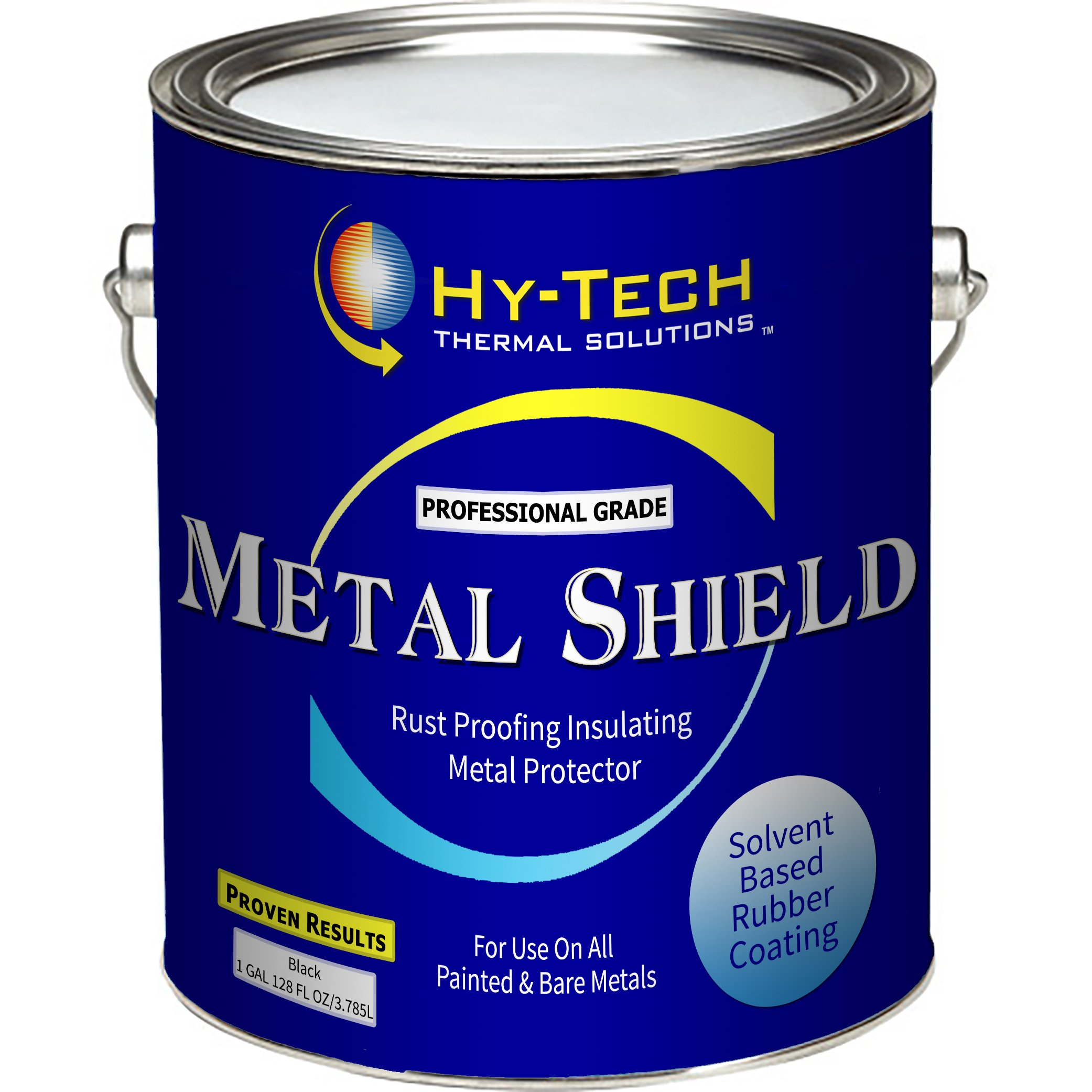 Hy-Tech Thermal Solutions Metal Shield - Automotive Undercoating - 1 Gallon