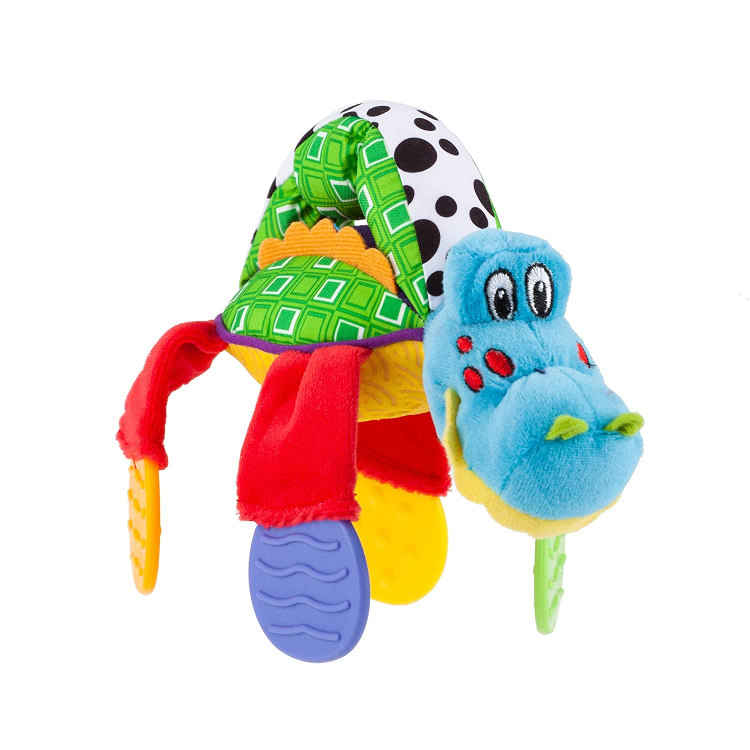 Alligator Nuby Floppers Plush Teether