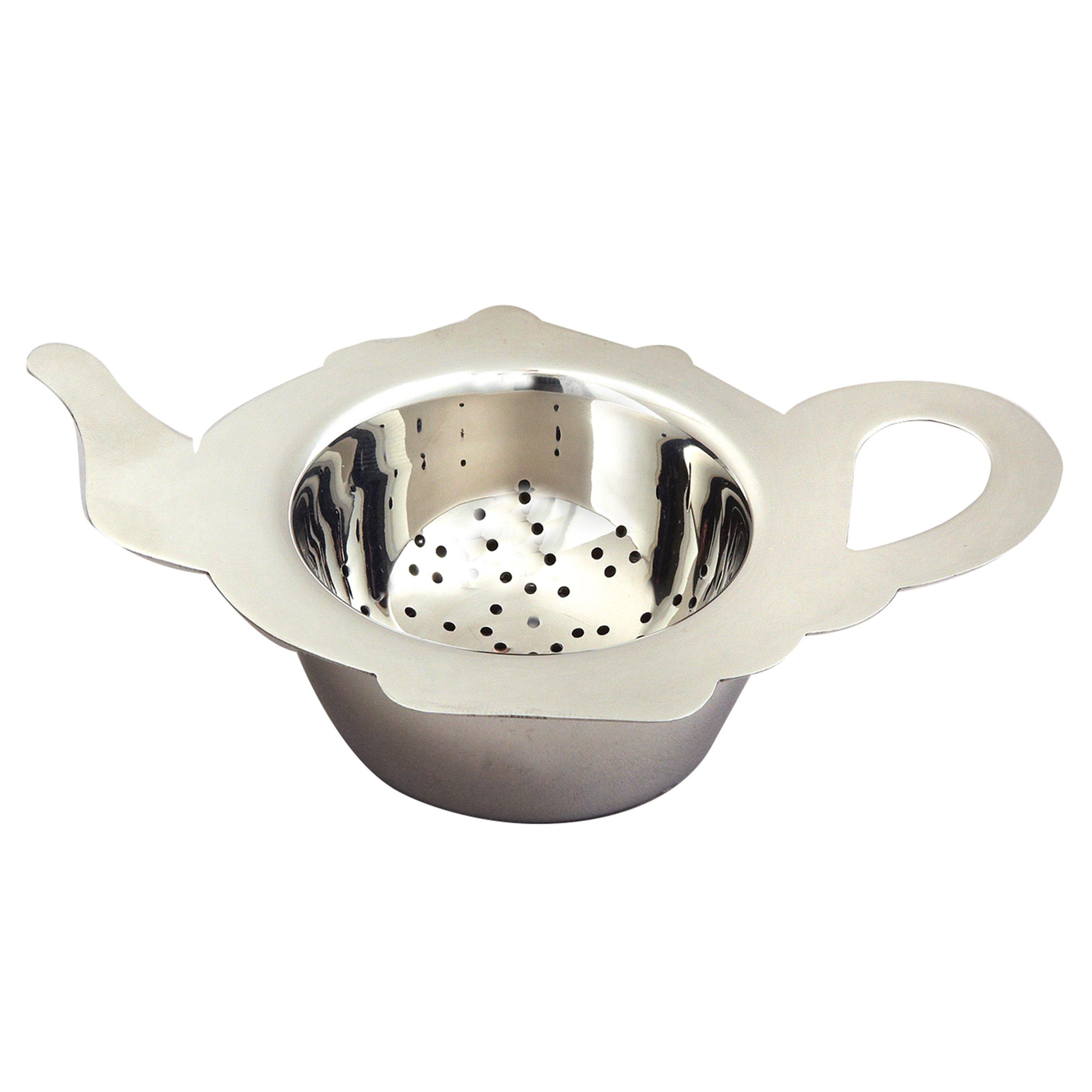 Elegance Stainless Steel Tea Strainer