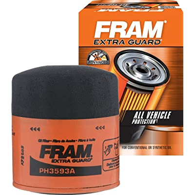 FRAM PH3593A Extra Guard Spin-On Oil Filter: Automotive