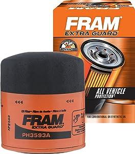 FRAM PH3593A Extra Guard Spin-On Oil Filter