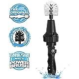 Brush Hero- Wheel Brush, Premium Water-Powered Turbine for Rims, Engines, Bikes, Equipment, Furniture and More (Starter)