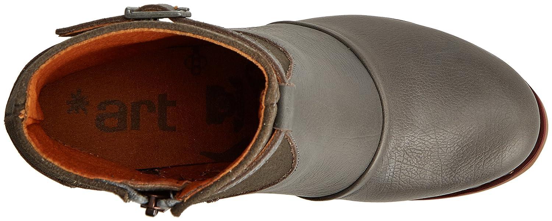 Art Damen Stiefel, St.Tropez Kurzschaft Stiefel, Damen Grau (Memphis-wax Humo) 28bec0