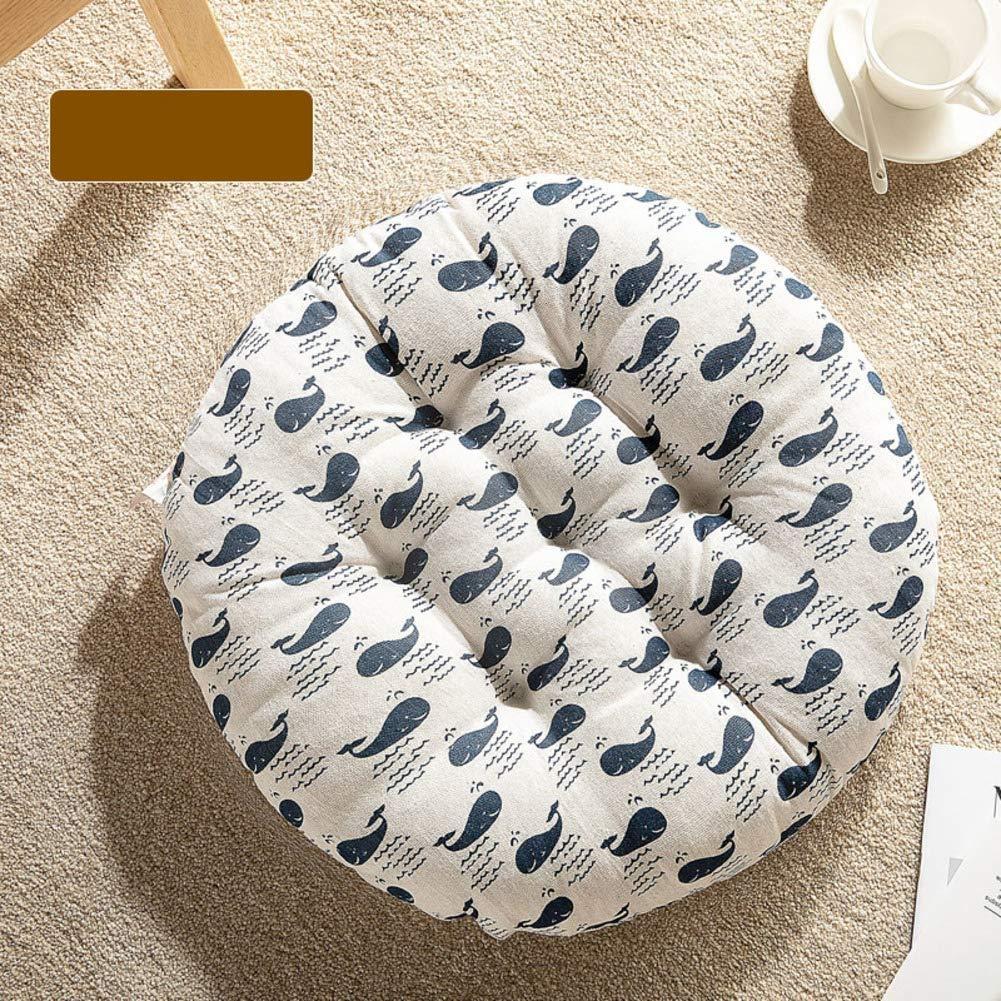 Cuscino imbottito per ufficio Cuscino per sedie rotondo Tatami Cuscino per