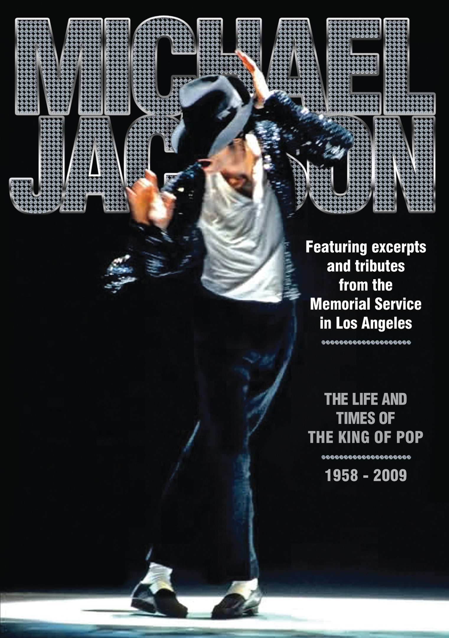 DVD : Michael Jackson: Life and Times Of The King Of Pop (DVD)