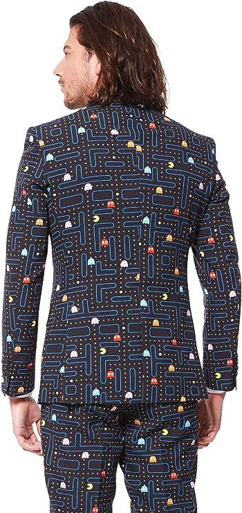 Traje Pac-Man Opposuits hombre L / XL: Amazon.es: Juguetes y juegos