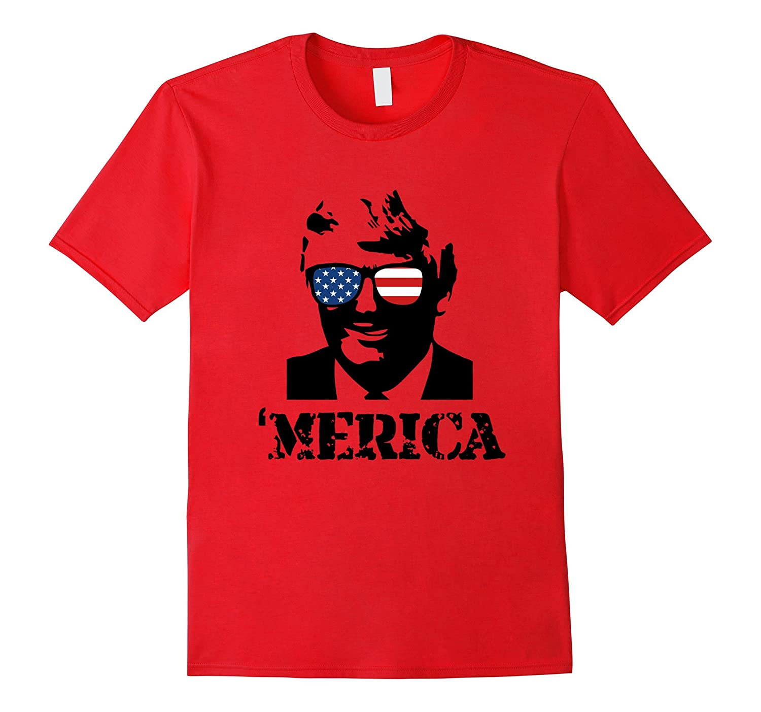 'MERICA Donald Trump T-Shirt-FL