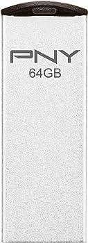 PNY Metal Attache 64GB Flash Drive
