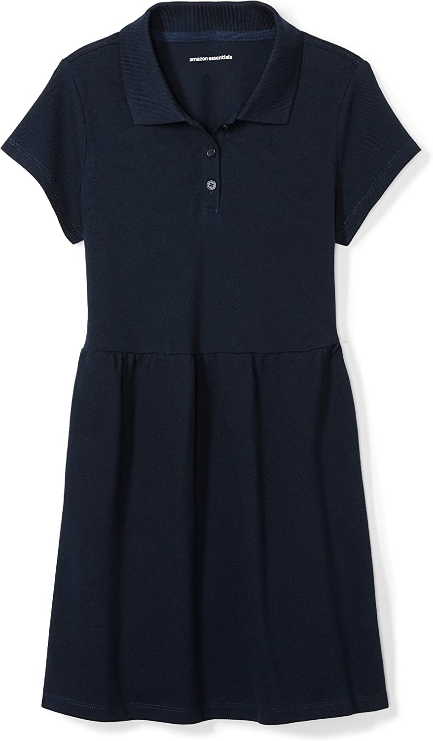 Amazon Essentials Girl's Short-Sleeve Polo Dress