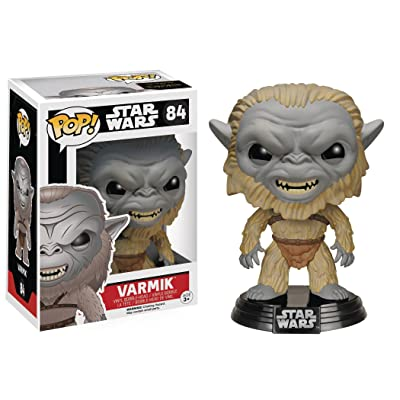 Funko POP Star Wars: Episode 7 - Varmik Action Figure: Funko Pop! Star Wars:: Toys & Games