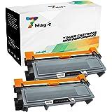7Magic Compatibile Brother TN2320 TN-2320 Cartuccia del Toner (2 Nero) ad Alta Capacità Sostituzione per Brother MFC-L2700DW MFC-L2740DW MFC-L2720DW HL-L2300D HL-L2340DW DCP-L2500D Stampante