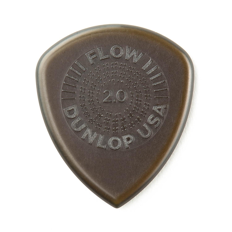 Jim Dunlop 549p2.00 Flow Standard Grip Plektren (, 2 mm, Set 6 Stü ck