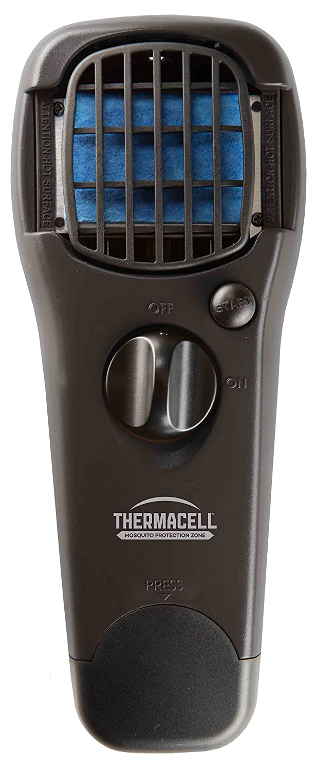 Amazon Com Thermacell Mr Lj Portable Mosquito Repeller Black Sports Outdoors