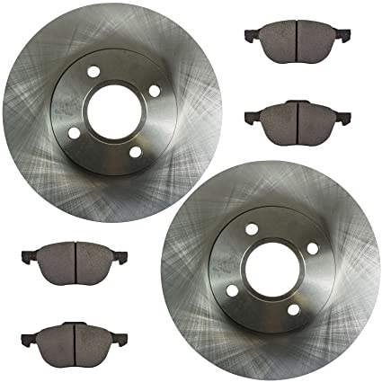 Amazon.com: Front Disc Brake Pad & Rotor Kit Set for 05-07 Ford Focus: Automotive
