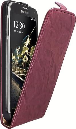 mumbi - Funda de Piel Estilo Cartera para Samsung Galaxy S4: Amazon.es: Electrónica