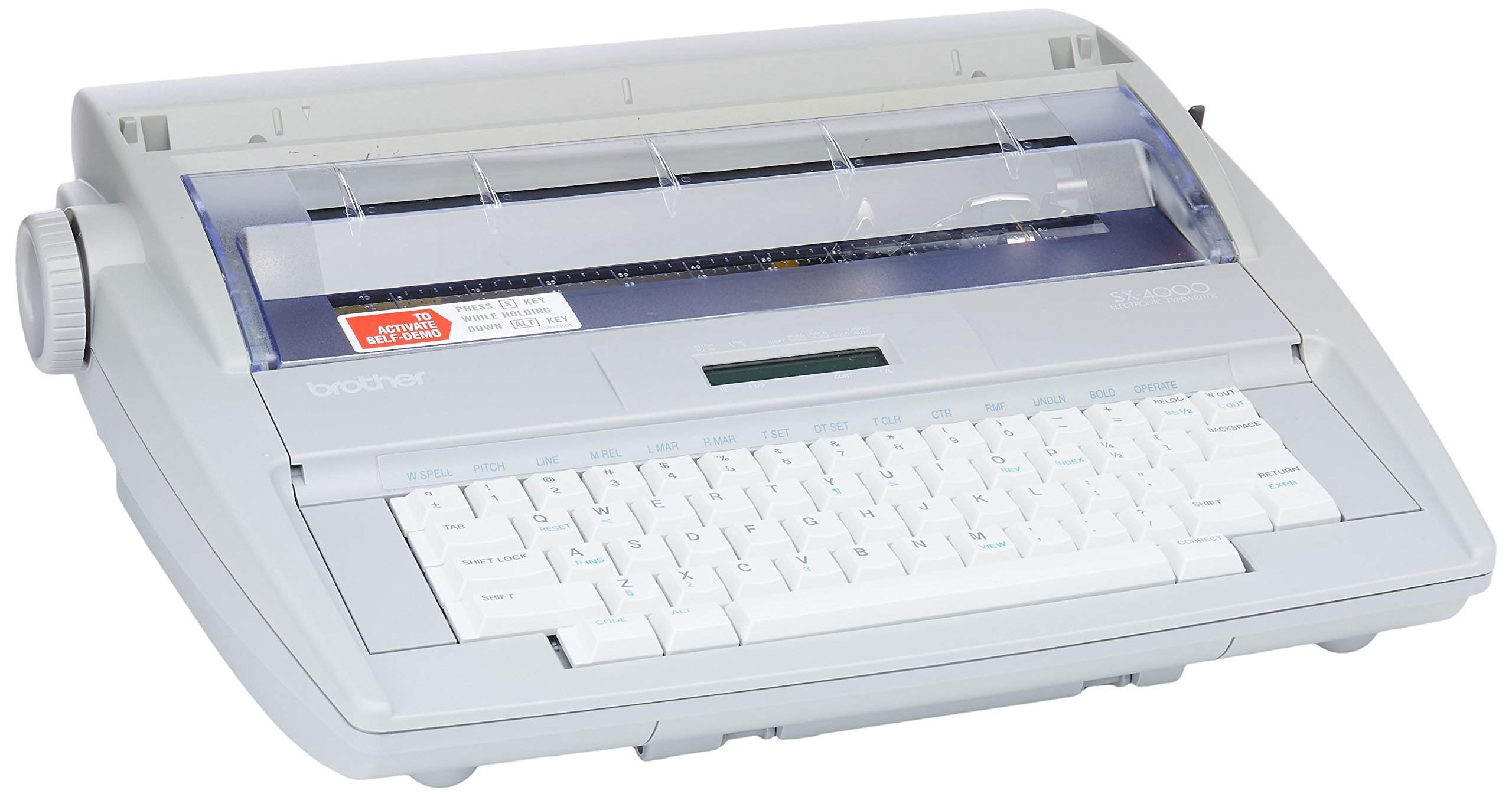 Brother SX-4000 Electronic Typewriter (Renewed)